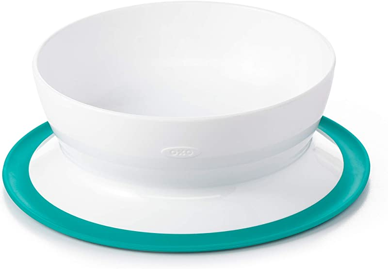 OXO Tot Stick Stay Suction Bowl Teal