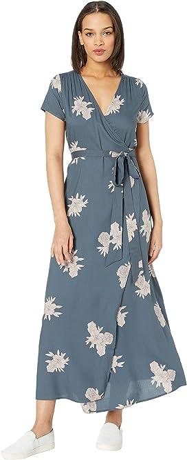 bd4497716a243c Roxy Taste Of Tomorrow Maxi Wrap Dress at Zappos.com