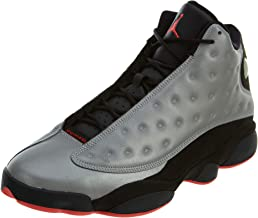 Nike Mens Air Jordan 13 Retro PRM 3M Reflective Synthetic Basketball Shoes