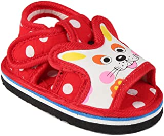 CHIU Boy's chu Sandal with Strip for 15-18 Months Baby Boy & Girl Boat Shoes