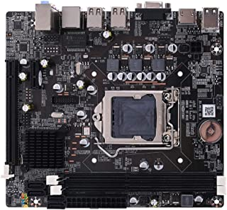erticvtiu Placa base, P8H61-M LX3 PLUS R2.0 Desktop Motherboard H61 Socket LGA 1155 I3 I5 I7 DDR3 16G UATX UEFI BIOS placa base
