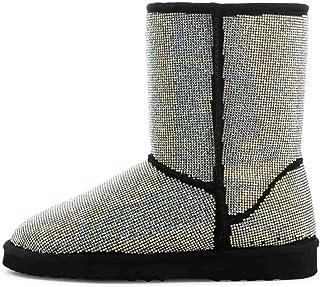 Keesha-1 Warm Winter Boots for Women Girls, Faux...