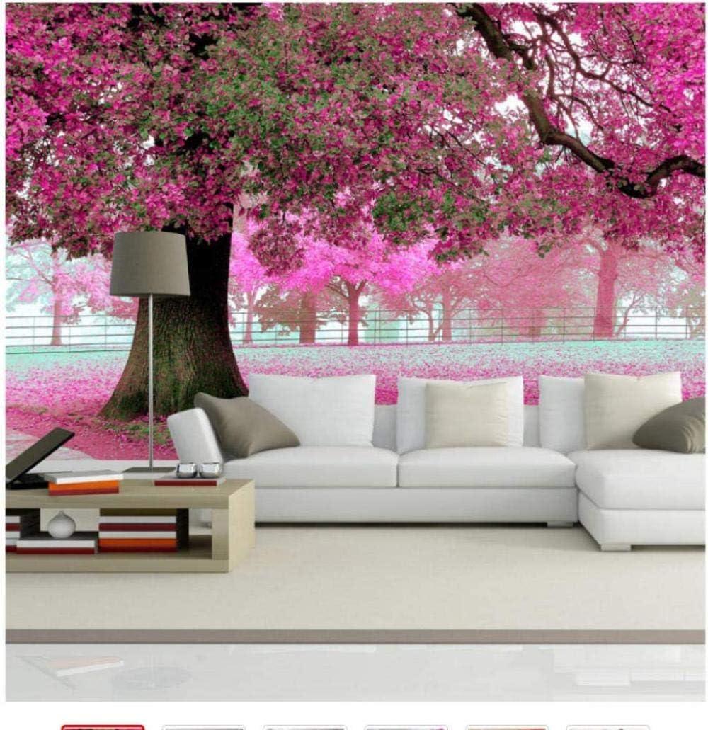 Sale price 3D Phoenix Mall Wall Murals Wallpaper Landscape Custom Wallpap Blossom Cherry