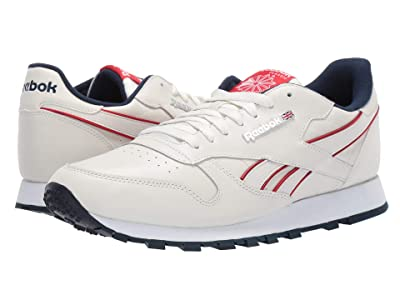 Reebok Lifestyle Classic Leather MU (Chalk/Navy/Red/White) Men