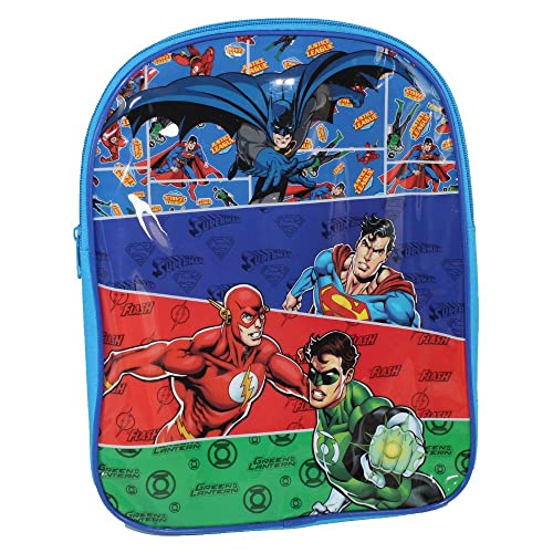 8071ac3757 DC Justice League Superman/Batman/Flash and Green Lantern Backpack
