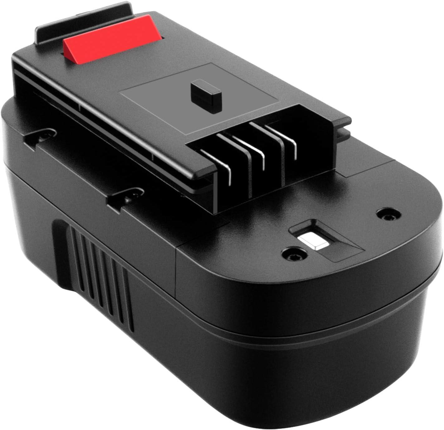 ADVTRONICS 18V 3,4Ah Ni-MH Batería para Black & Decker 244760-00 A1718 A18NH HPB18 HPB18-OPE A18 FS180BX FS18BX FS18FL FSB18 244760-00