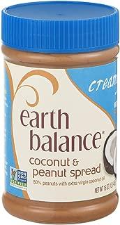 Earth Balance Coconut & Peanut Spread Creamy 16 OZ (Pack of 24)