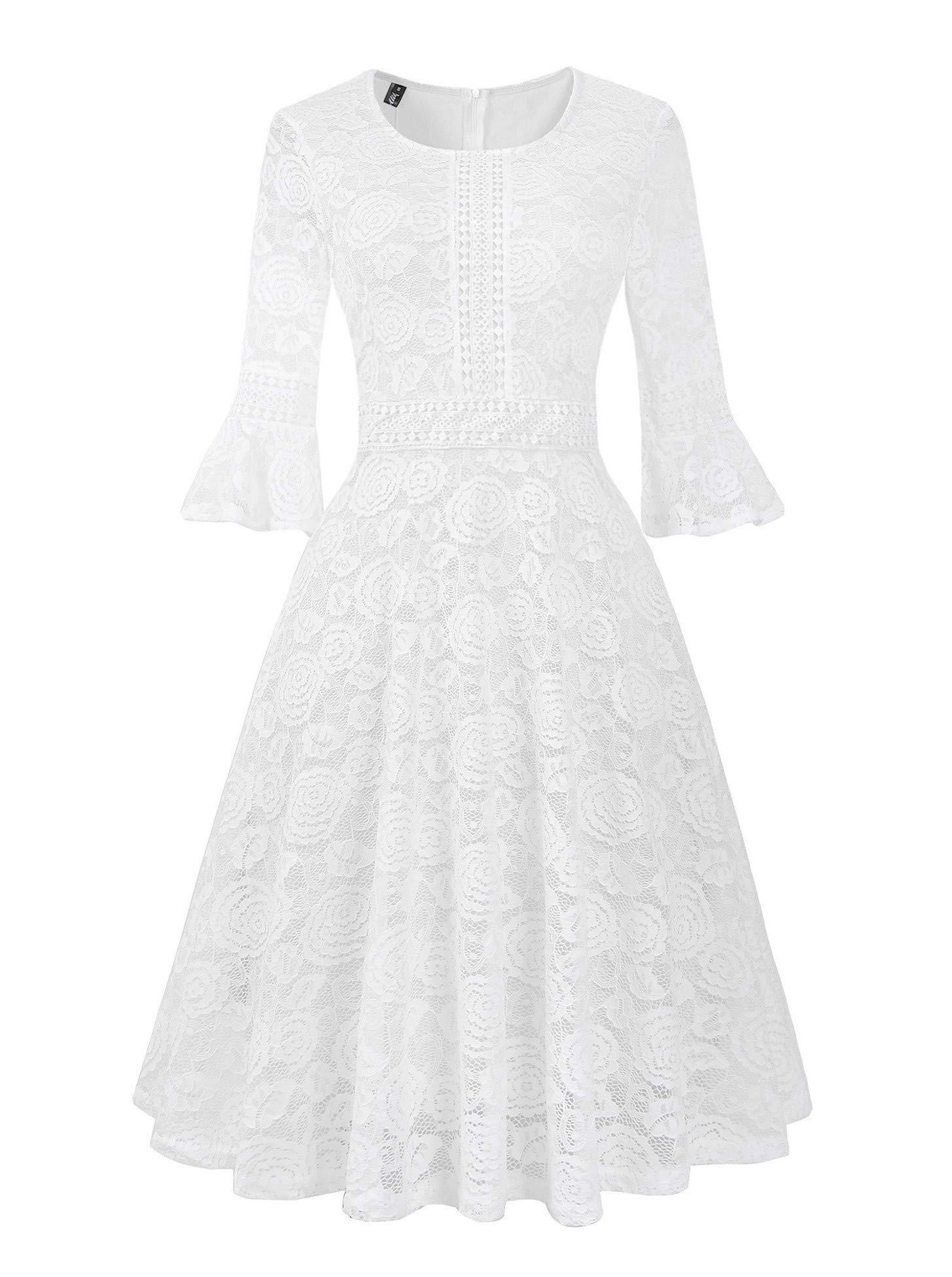 White Dress - Women's Elegant V Neck Wrap Knit Dresses Batwing Sleeve Backless Slit Maxi Dress With Belted