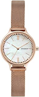 Skagen Anita Women's Mother Of Pearl Dial Stainless Steel Analog Watch - SKW2865