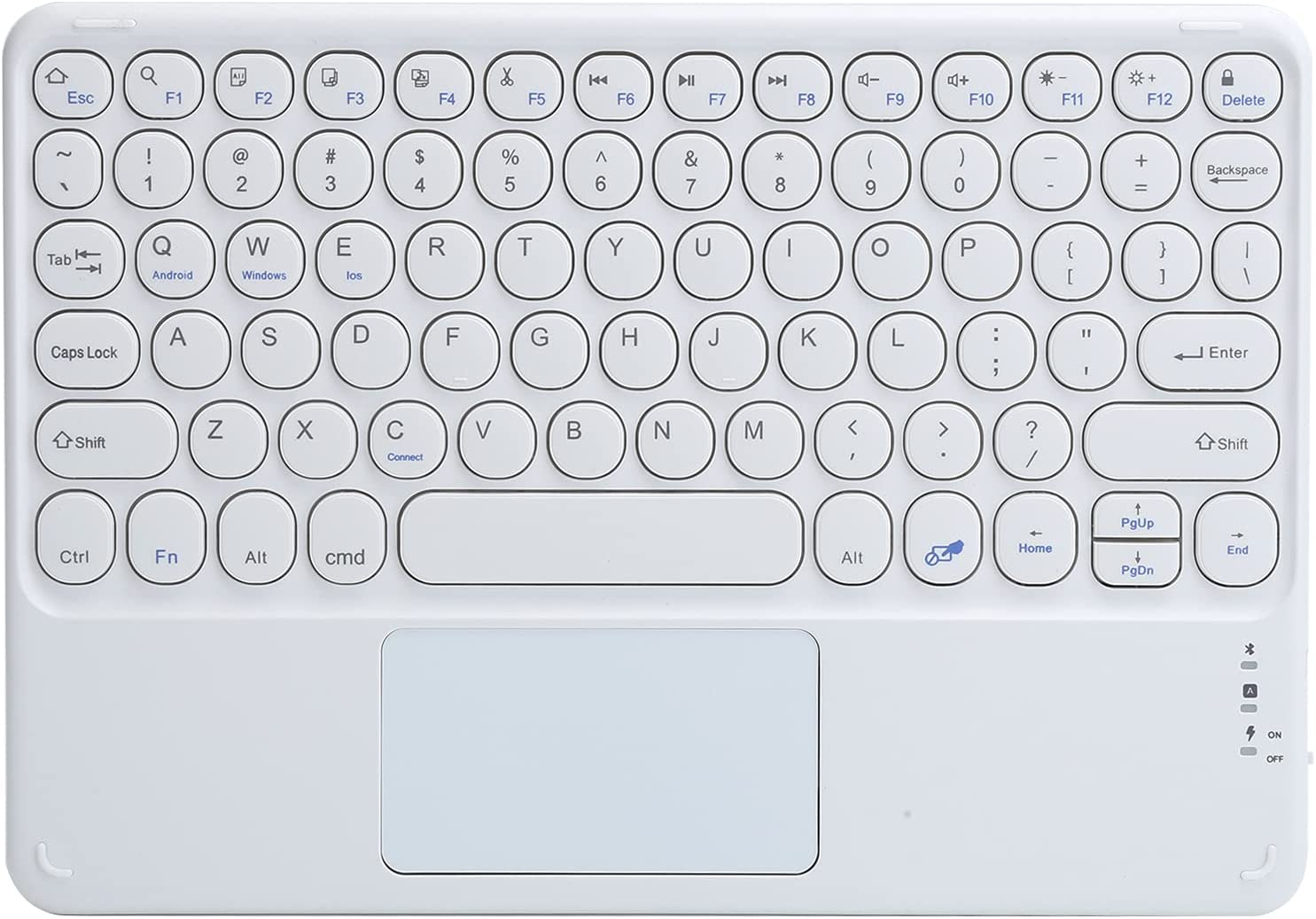 Bluetooth and New arrival Keyboard Rechargeable Touc with Wireless Ranking integrated 1st place
