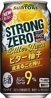 サントリー-196℃ ストロングゼロ ビター柚子 [ チューハイ 350ml×24本 ]