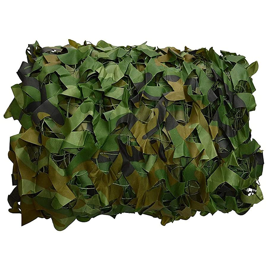 Camouflage Mesh Digital Desert Military Camouflage Net Light Hunting Shade Camping Shooting (Size : 5 x 8m)