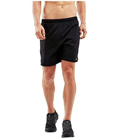 2XU XVENT 7 Shorts w/ Brief (Black/Silver Reflective) Men