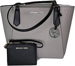 MICHAEL Michael Kors Kimberly SM Bonded Tote bundled with Michael Kors Jet  Set Travel Coin Purse 26b41302d945b