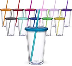 Maars Classic Insulated Tumblers 16 oz.   Double Wall Acrylic   12 Pack