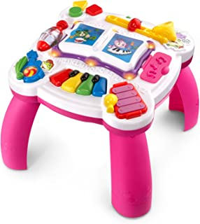 LeapFrog Learn & Groove Musical Table (Frustration Free Packaging), Pink