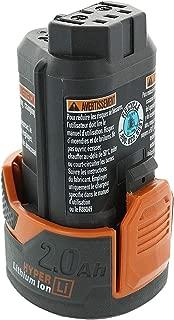 Ridgid AC82049 Genuine OEM Compact Hyper Lithium Ion 2.0 Amp Hour 12V Battery