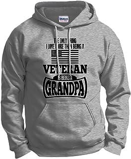 Grandpa Gift Military Veteran Only Thing Love More Hoodie Sweatshirt