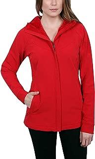 Ladies' Water-Repellent Wind Resistant Softshell Jacket