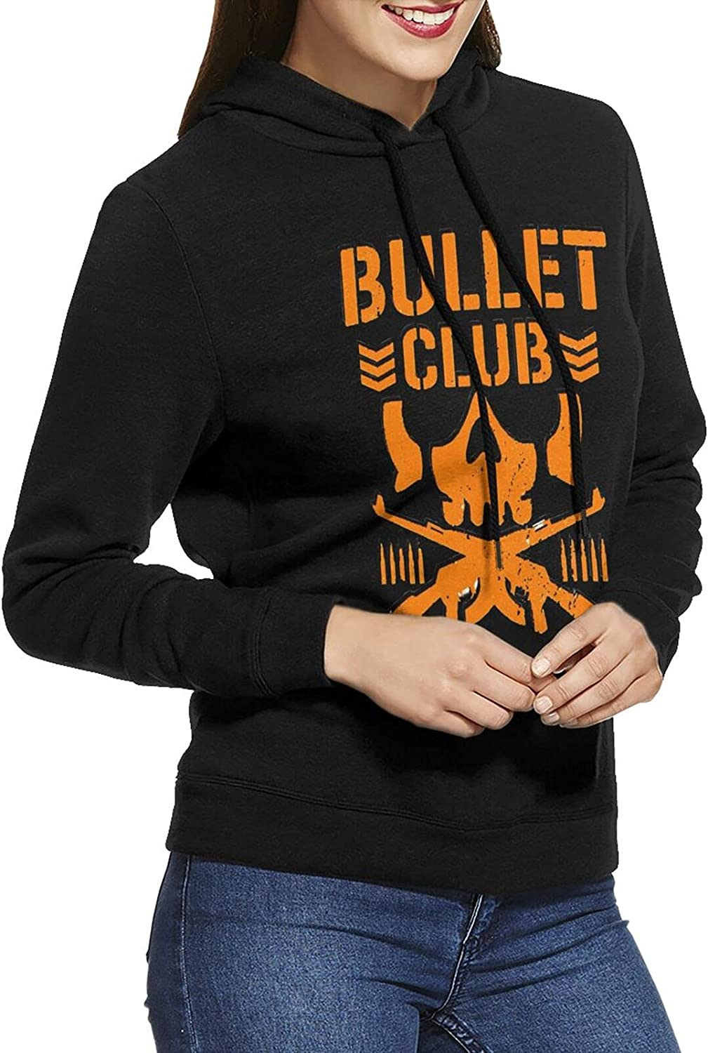 shipfree Dudkc Directly managed store Bullet Club Womens Hoodie Sweatshirt Breathable