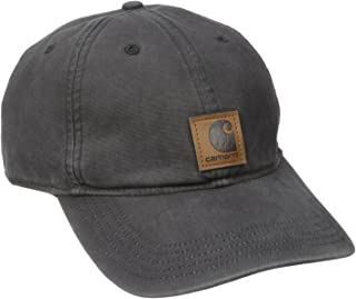 Carhartt Men's Medium Profile 100 Percent Cotton Odessa Force Cap, Black, One Size