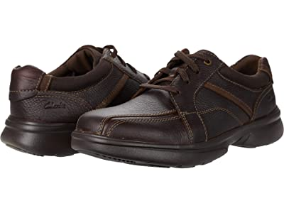 Clarks Bradley Walk (Brown Tumbled Leather) Men