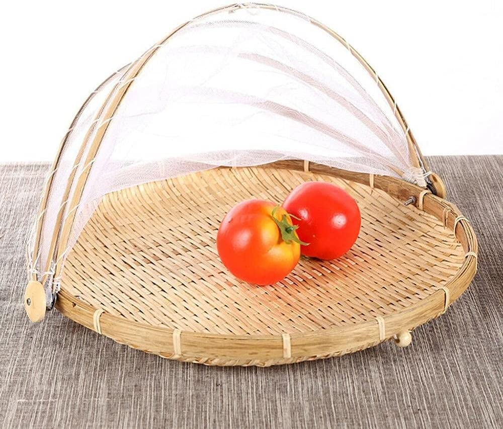 Jiahee Hand-woven food service tent Max 57% OFF fruits vegetable basket Genuine and