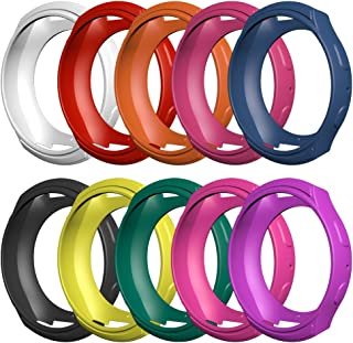 Awinner Samsung Gear S2 (SM-R720/R730) Case, Shock-Proof and Shatter-Resistant Protective Band Cover Case (NOT FIT S2 Classic SM-R732 & SM-R735) (10-Pack)