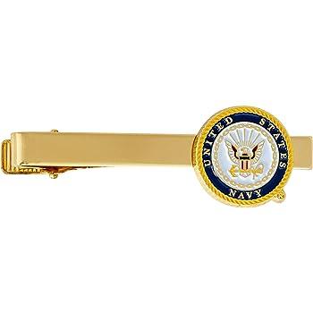 Tie Bar - Main Seal United States Navy Tie Bar Logo Formal Occasion Standard Length Width US Navy