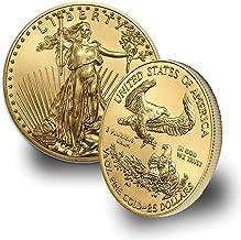 1986 - Present 1/2oz American Gold Eagle (Random Year) $25 Brilliant Uncirculated