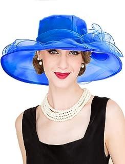 blue church hats