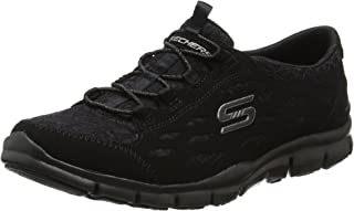 Skechers Women's Gratis-Chic Craze Slip on Trainers, Black (Black), 4 UK 37 EU