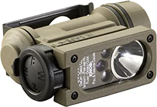 Streamlight 14514 Sidewinder Compact II Military Model Angle Head Flashlight Head Strap and Helmet Mount Kit Coyote