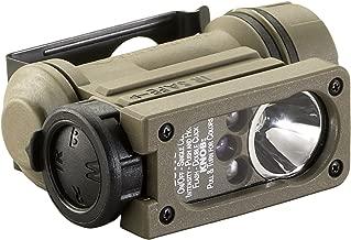 Streamlight 14514 Sidewinder Compact II Military Model Angle Head Flashlight, Headstrap and Helmet Mount Kit - 47 Lumens