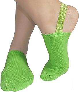 Halfsox-the Original Classic Sling-back No Show Half Socks (Small, Medium) (One Pair)