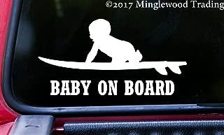 Minglewood Trading BABY ON BOARD (SURFBOARD) 6