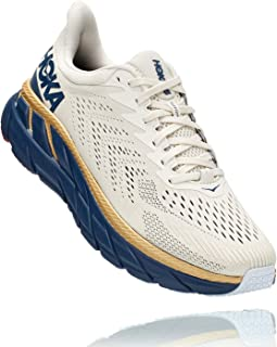 HOKA Clifton 7 Running Shoes Road for Man White Blue