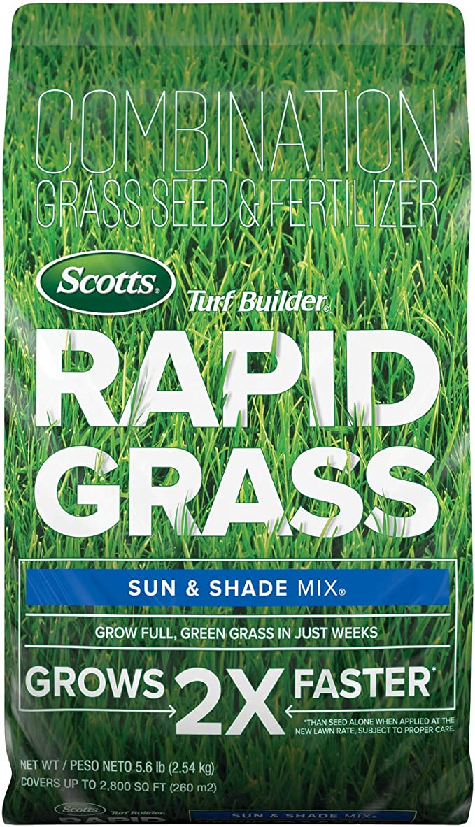Scotts Turf Builder Rapid Grass Sun & Shade Mix
