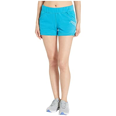 PUMA Yogini 3 Shorts (Caribbean Sea Heather) Women