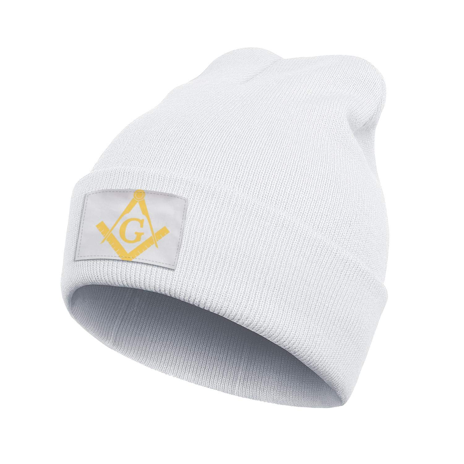 Peace Symbol Icon Love Peace Sign Hope Knitted Beanie Knit Ladies Hat Beanie Caps for Boys Youth Skull Cap 3D Printed Adult Comfortbale Soft