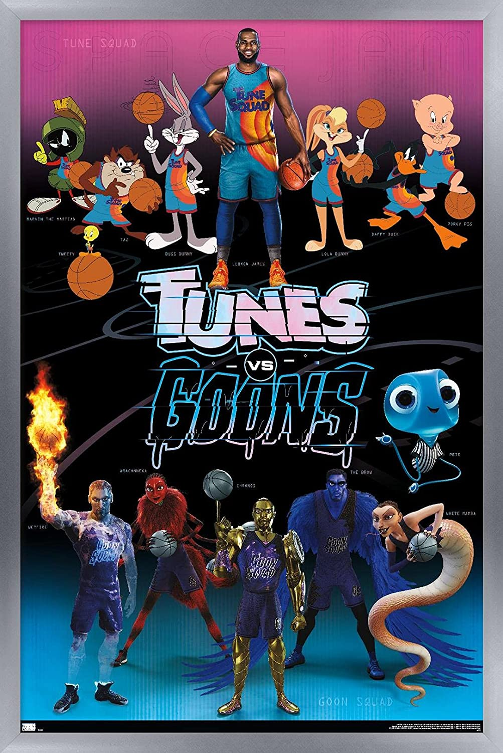 Trends International Space Jam: Bombing gift free shipping A New Legacy Group - Wall Poster