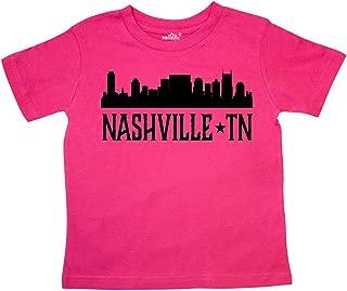 Nashville Tennessee City Skyline Toddler T-Shirt