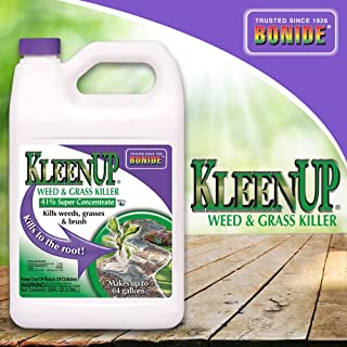Bonide (BND7462) - KleenUp Weed Killer Concentrate, Weed and Grass Control 41% Super Concentrate (1 gal.)