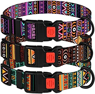 CollarDirect Tribal Pattern Adjustable Collars