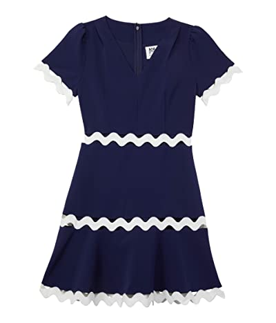 Milly Minis Josephine Cady Trim Dress (Big Kids) Girl