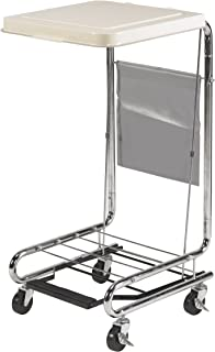 Drive Medical Hamper Stand, Chrome