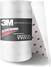 VViViD 3M Scotchgard Clear Paint Protection Vinyl Film (6 Inch x 60 Inch)