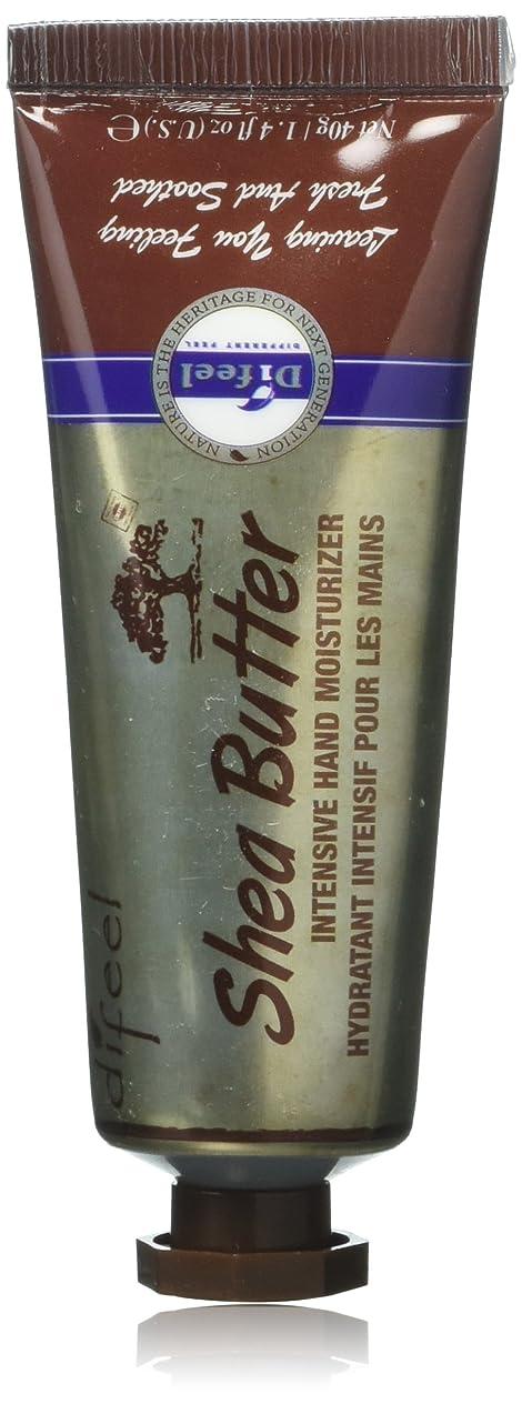 のために摂氏パキスタンDifeel(ディフィール) シアーバター ナチュラル ハンドクリーム 40g SHEA BUTTER 16SHE New York 【正規輸入品】