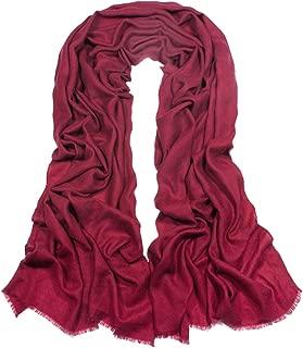 Dahlia Women's 100% Cashmere Scarfs, Wraps, and Shawls