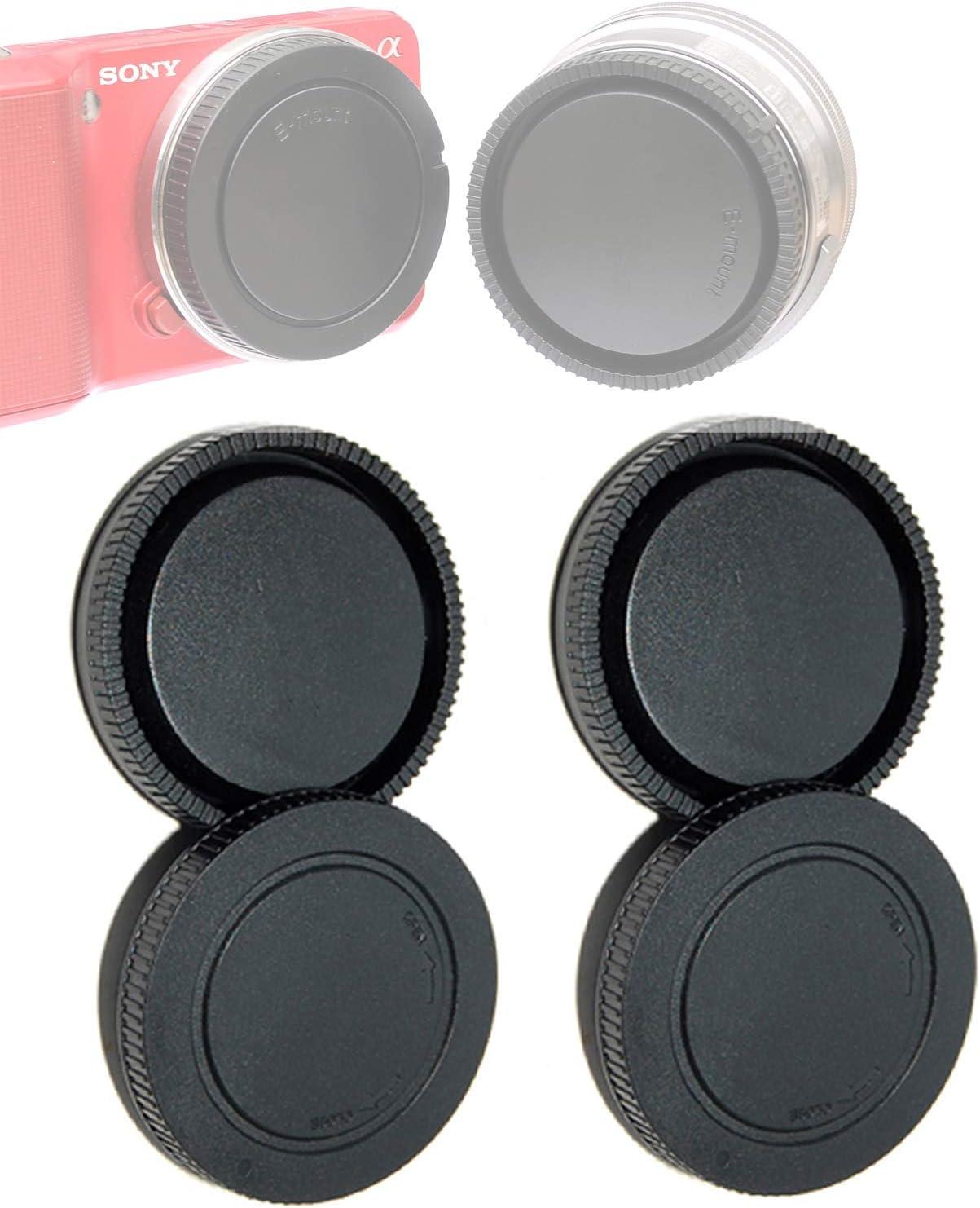 2 Packs Manufacturer OFFicial Spring new work shop E Mount Rear Back Sony Cap Camer EMount Body Lens